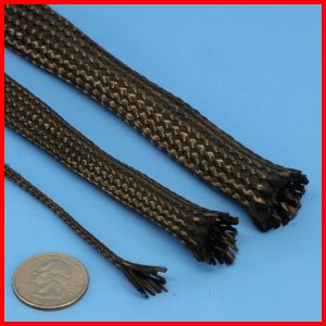 Carbon fiber braided sleeve high strength high temperature heat resistant