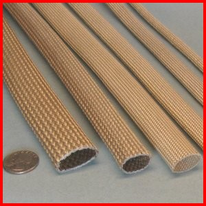 fiberglass braided sleeve with acrylic saturant high temperature rh abthermal com fire resistant cable insulation