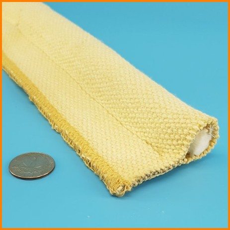 Aramid Cover Fiberglass Core Tadpole Gasket Tape High