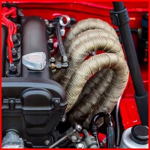 Automotive Exhaust Header Wrap Tape