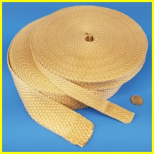 Fiberglass - Silica Blended Woven Gasket & Insulation Tape
