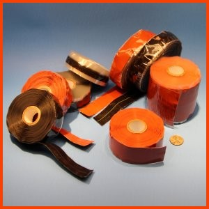 silicone rubber end wrap tape